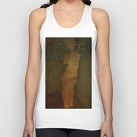 virgo Tank Tops featuring VIRGO by lucborell
