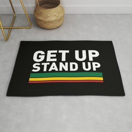 Get Up Stand Up / Rasta Vibrations Rug