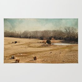 Sheep in the Meadow Rug