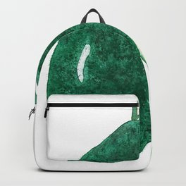 green avocado watercolor Backpack