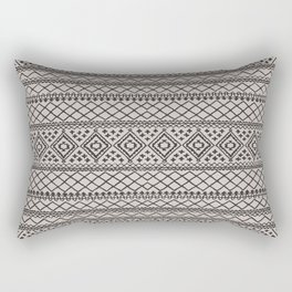 N108 - HQ Anthropologie Traditional Oriental Moroccan Texture Style Design. Rectangular Pillow