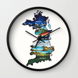 Prythian Wall Clock
