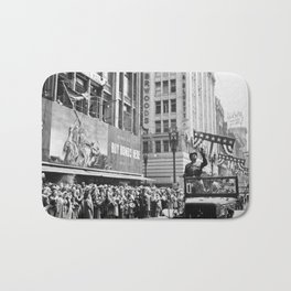 General Patton - Ticker Tape Parade Bath Mat