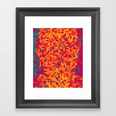 Mosaic Series Framed Art Print
