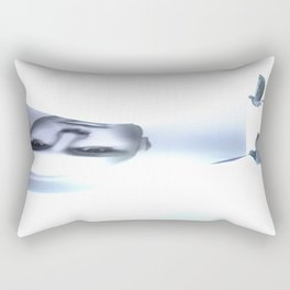 Cult of Youth: Canvas Face Movers Rectangular Pillow