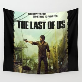 The Last of Us Joel Action Figure Wall Tapestry