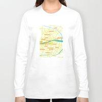 dublin Long Sleeve T-shirts featuring Dublin by mattholleydesign