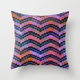 Southwest Chevron Throw Pillow