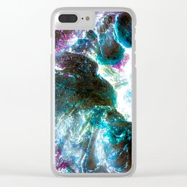 Tree Light Clear iPhone Case