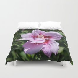 Double Headed Marsh Mallow Althaea Officinalis  Duvet Cover