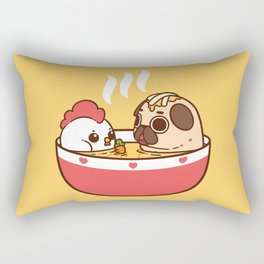 Chicken Noodle Puglie Soup Rectangular Pillow