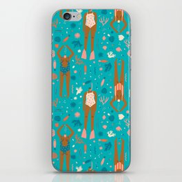 Mermaids iPhone Skin