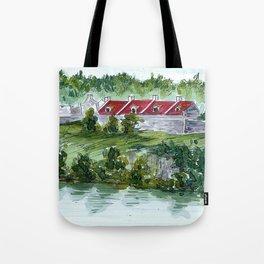 Fort Ticonderoga Tote Bag
