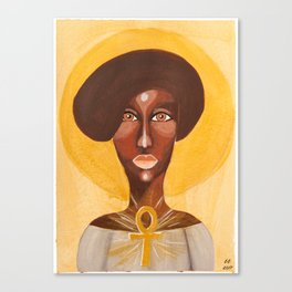 Goddess no 11 Canvas Print