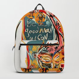 Be a good man my son Backpack