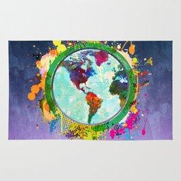 World Map - 2 Rug