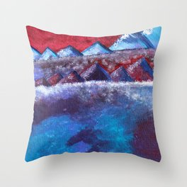 Skog and Fjell #2 Throw Pillow