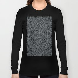 Ab Lace Black and Grey Long Sleeve T-shirt