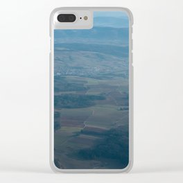 Swiss Air Clear iPhone Case