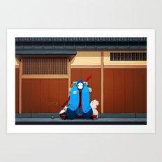 Itamae Art Print
