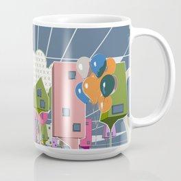 Balloon Houses Coffee Mug