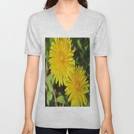 douce du printemps Unisex V-Neck