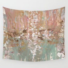 Spring Poetry - Abstract Art Wall Tapestry
