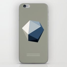 Minimal Geometric Polygon Art iPhone Skin