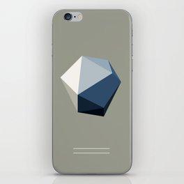 Minimal Geometric Polygon Art iPhone Skin