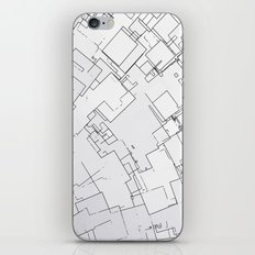 Plan abstract iPhone & iPod Skin