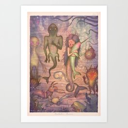 Omutnitsa's Reunion Art Print