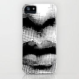 Lina Cavalieri Nose & Mouth iPhone Case