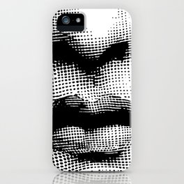 Lina Cavalieri - nose and mouth iPhone Case