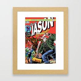 The Invincible Jason vs Freddy Framed Art Print