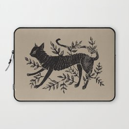 Cat in Vines Laptop Sleeve