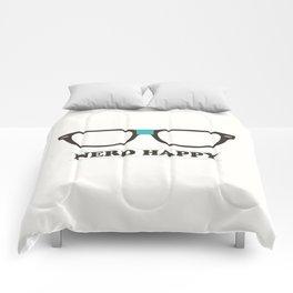 Nerd Happy Comforters