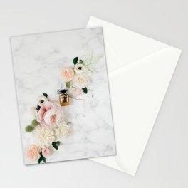 Luxury Perfume Bottle Stationery Cards