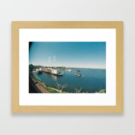 Jamaica Bay Framed Art Print