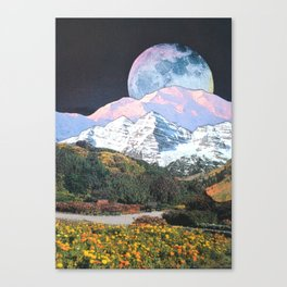 Later In Time Canvas Print