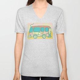 Hippie Bus Unisex V-Neck