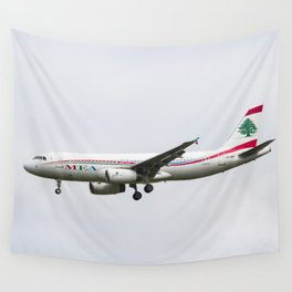 Middle Eastern Airlines Airbus Wall Tapestry
