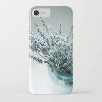 lavender iPhone & iPod Cases featuring Lavender  by Photography by Debbie Aruta