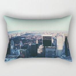 Take me back to the city Rectangular Pillow