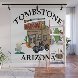 Tombstone Arizona Wall Mural