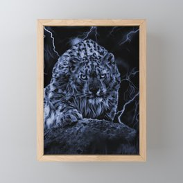 ON THE PROWL Framed Mini Art Print