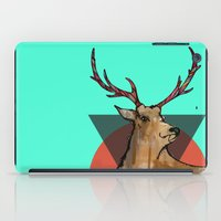 stag iPad Cases featuring Stag by Hannah Coates