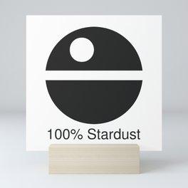 100% Stardust Mini Art Print