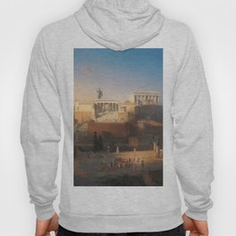 The Acropolis of Athens, Greece by Leo von Klenze Hoody