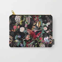 Floral and Birds IX Carry-All Pouch