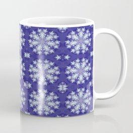 Frozen Snow Flakes Coffee Mug
